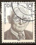 Sellos de Europa - Alemania -  Las personalidades socialistas.Alfred Oelssner 1879-1962,DDR.