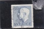 Sellos de Europa - Suecia -  Gustavo VI de Suecia