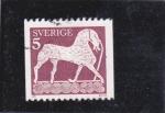Sellos de Europa - Suecia -  figura caballo