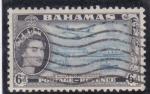 Stamps Bahamas -  transportes modernos