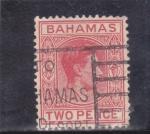 Stamps Bahamas -  personaje