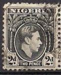 Stamps Africa - Nigeria -  gorge VI