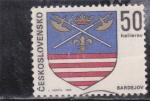 Stamps Czechoslovakia -  escudo de armas de Bardejov