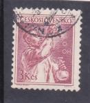 Sellos de Europa - Checoslovaquia -  químico