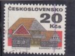 Sellos de Europa - Checoslovaquia -  Slovensko- Cicmany