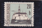 Stamps : Europe : Czechoslovakia :  Nitra- catedral