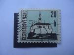 Sellos de Europa - Checoslovaquia -  Nitra.