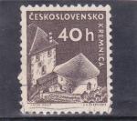 Sellos de Europa - Checoslovaquia -  castillo de Kremnica