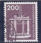 Sellos de Europa - Alemania -  estructura metálica