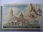 Sellos de Asia - Filipinas -  Inauguración de la Catedral de Manila- Dic.8 de 1958