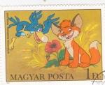 Sellos de Europa - Hungría -  serie televisiva infantil