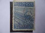 Stamps Belgium -  Industrie Textile.