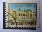 Stamps : Africa : Libya :  Beit-Ed Dine - Le Palais.