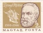 Sellos de Europa - Hungría -  Zrinyi Mickos 1508-1566 héroe