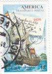 Sellos de America - Cuba -  transporte postal UPAEP