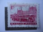 Stamps Hungary -  Bus Articulado.