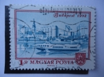 Stamps Hungary -  Budapest.
