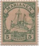 Sellos de Europa - Alemania -  Y & T Nº 8 Marianees Is