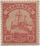 Stamps Germany -  Y & T Nº 9 Marianees Is