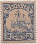 Stamps Germany -  Y & T Nº 10 Marianees Is