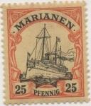 Stamps Germany -  Y & T Nº 11 Marianees Is