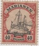 Sellos de Europa - Alemania -  Y & T Nº 13 Marianees Is