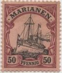 Stamps Germany -  Y & T Nº 14 Marianees Is