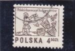 Sellos de Europa - Polonia -  ilustración