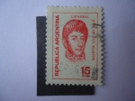Stamps Argentina -  General, José Francisco de San Martín 1778-1850.