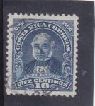 Sellos de America - Costa Rica -  Braulio Carrillo- político