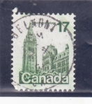 Stamps : America : Canada :  catedral