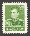 Stamps : Asia : Iran :  950 - Mohammed Riza Pahlavi