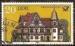 Sellos de Europa - Alemania -  Oficina de Correos, Bad Liebenstein (DDR).
