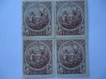Sellos de America - Barbados -  Sellos de la Colonia- King George V - Barbados - 1/4d.