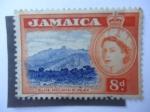 Sellos de America - Jamaica -  Blue Mountain  Peak.