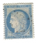 Stamps France -  Ceres. III República (1871-75)