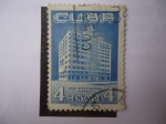 Stamps Cuba -  Gran Templo Nacional Masonico.