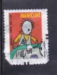 Stamps Brazil -  manicura