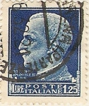 Stamps : Europe : Italy :  VITORIO EMANUELLE II