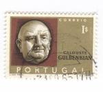 Sellos de Europa - Portugal -  Calouste Gulbenkian