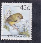 Sellos de Oceania - Nueva Zelanda -  ave