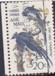 Stamps United States -  aves