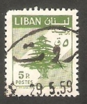 Sellos del Mundo : Asia : Líbano : 152 - Cedro libanés
