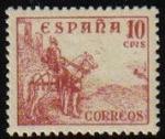 Stamps Spain -  ESPAÑA 1940 917 Sello Nuevo Rodrigo Diaz de Vivar. El Cid