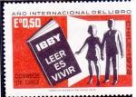 Sellos de Africa - Chile -  Año internacional del libro