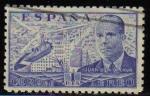 Stamps Europe - Spain -  ESPAÑA 1941 944 Sello º Juan de la Cierva y Autogiro 1p