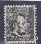 Sellos de America - Estados Unidos -  Abraham Lincoln- presidente