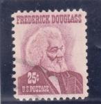 Stamps United States -  Frederick Douglass - escritor