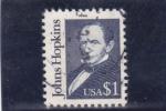 Sellos de America - Estados Unidos -  Johns Hopkins- empresario