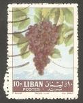 Stamps Lebanon -  221 - Uva negra